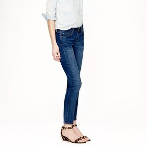 J. Crew Cropped Matchstick Mid Rise Jeans